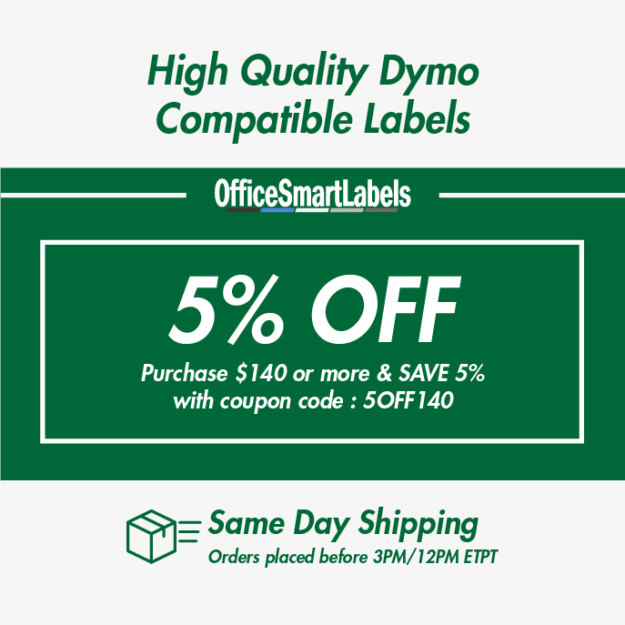 Dymo Compatible 30256 - 2-5/16