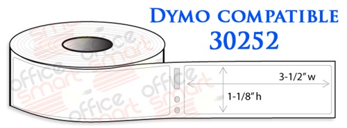 Dymo 30252 Address Labels