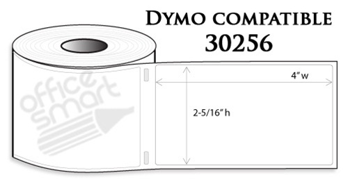 Dymo 30256 Shipping Labels